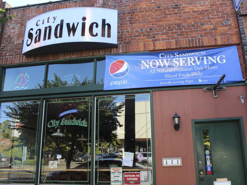City Sandwich Co Exterior