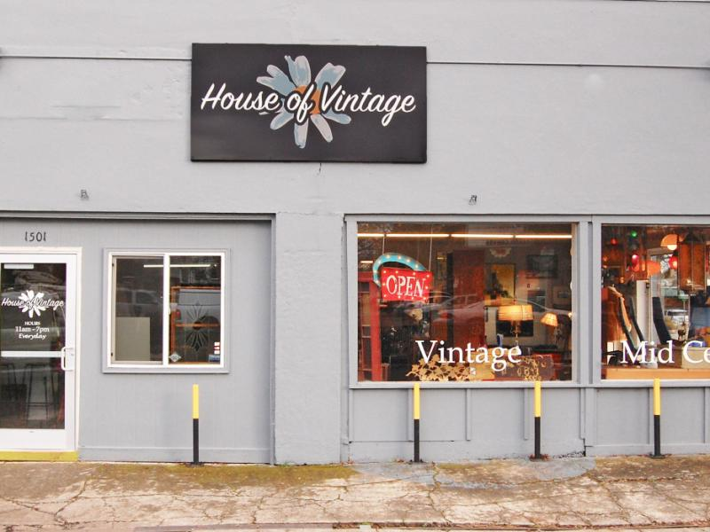 house of vintage exterior
