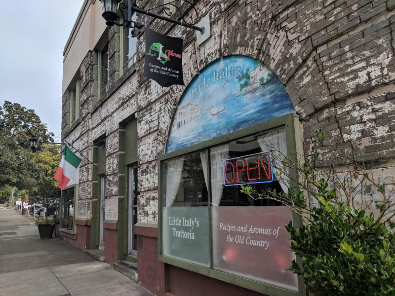 Little Italy's Exterior