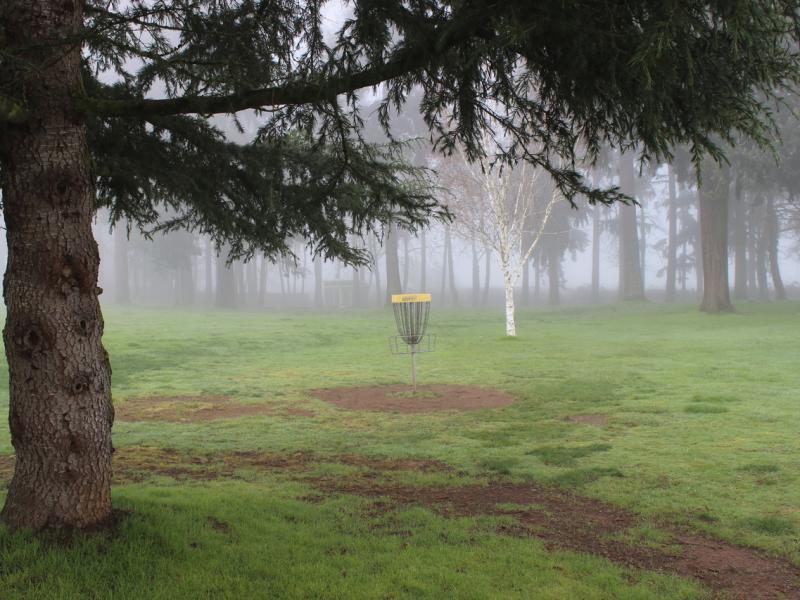 glenwood comm church disc golf course