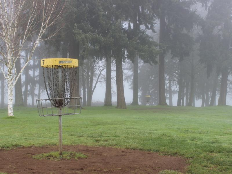 glenwood comm church disc golf