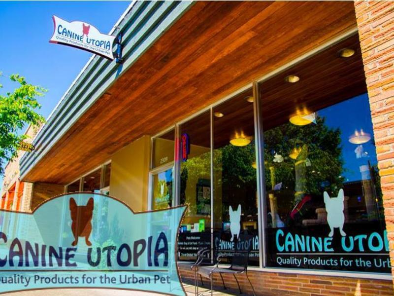 canine utopia storefront