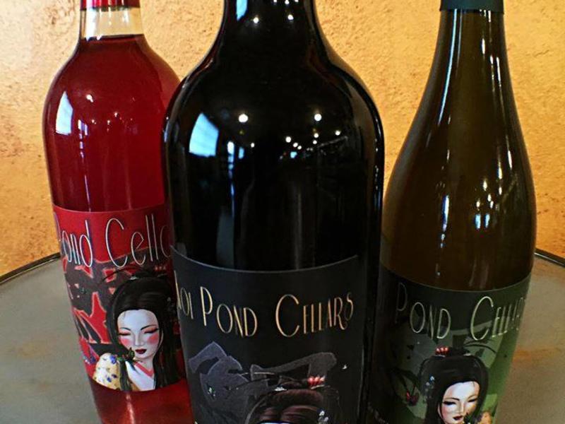 koi pond wine