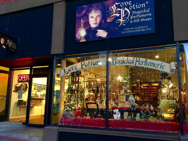 Love potion store front