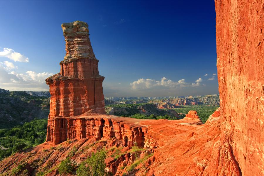 Palo Duro Canyon State Park - Lighthouse