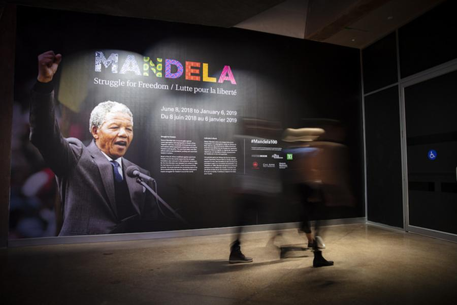 CMHR_Mandela Struggle for Freedom_entering the exhibition