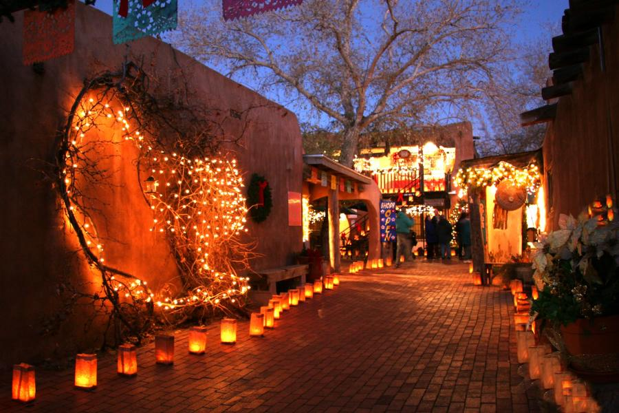 Luminarias Old Town Holidays