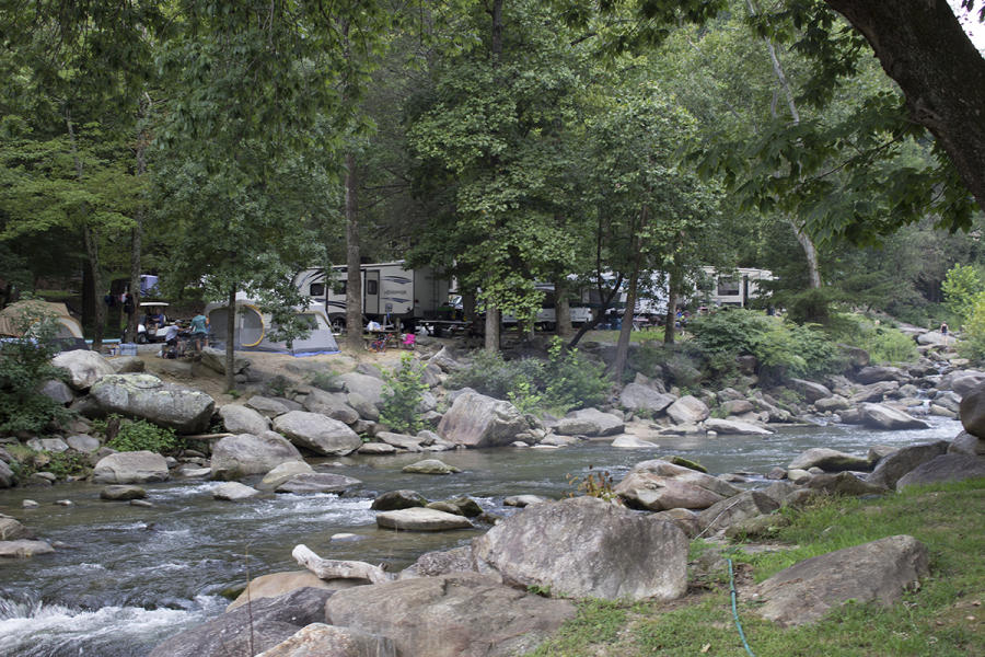 Hickory Nut Falls Campground