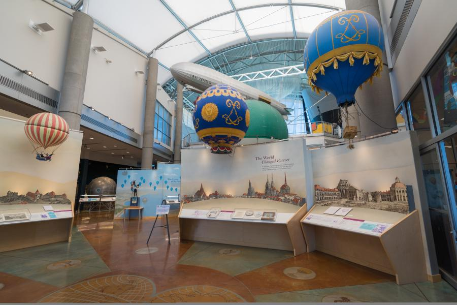 Balloon Museum Interior