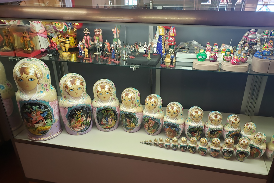Photo of Russian nesting dolls at Taste of Europe