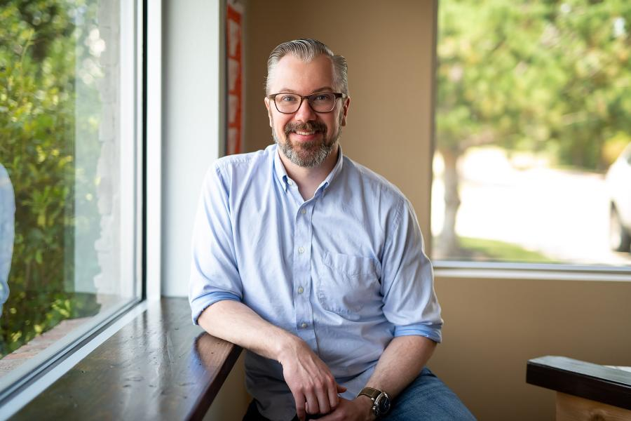 Photo of owner of Texas Coffee School, Tom Vincent