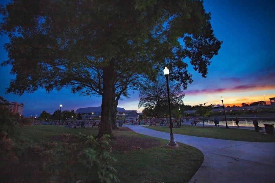 Big Spring Park Sunset