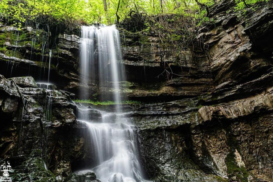 Keel Mountain Lost Sink Falls