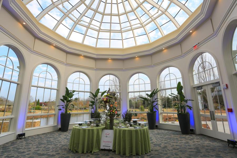 Round Windowed Room AT The Huntsville Botanical Garden