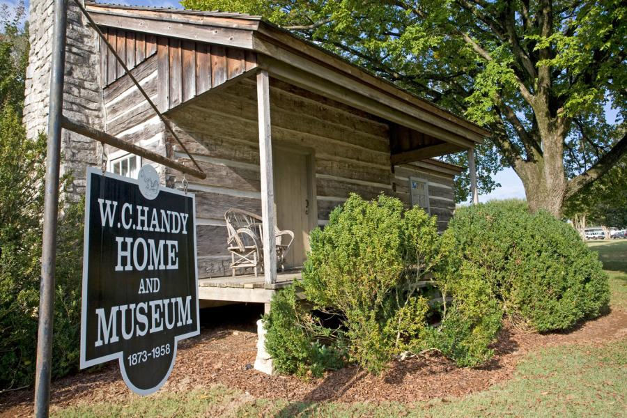 Be sure to visit the birthplace of WC Handy when in Huntsville.