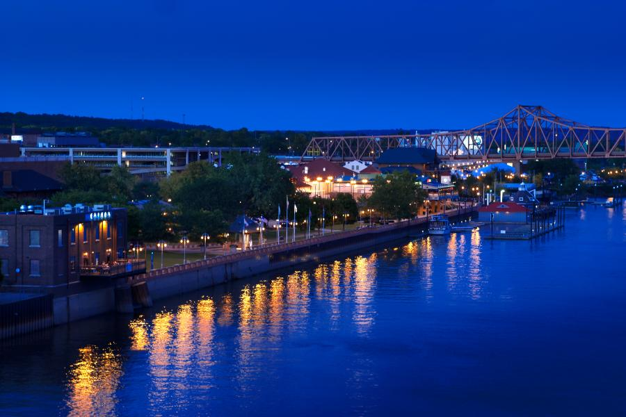 Riverfront at Night