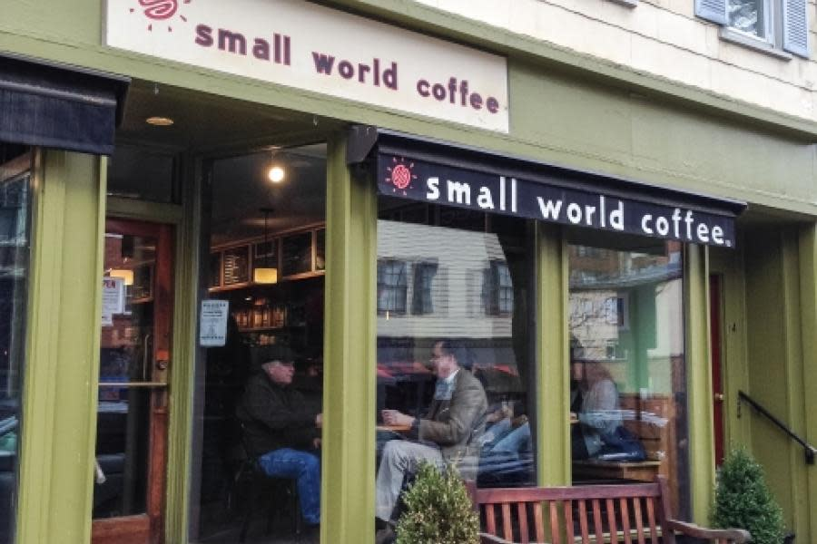 Small World Coffee Store Front