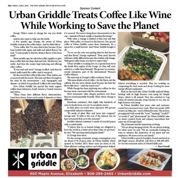 Urban Griddle Sponsored Content