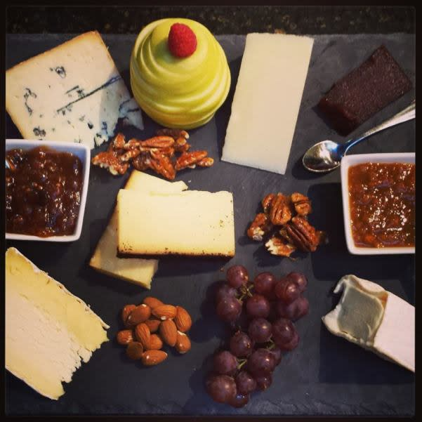 Cheese board from Firestone's Market