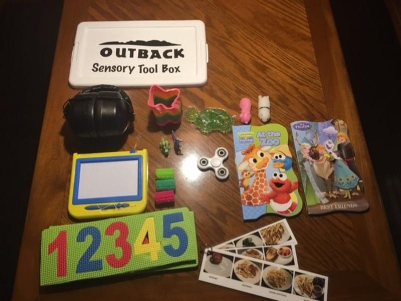 Outback Okemos Sensory Toolkit
