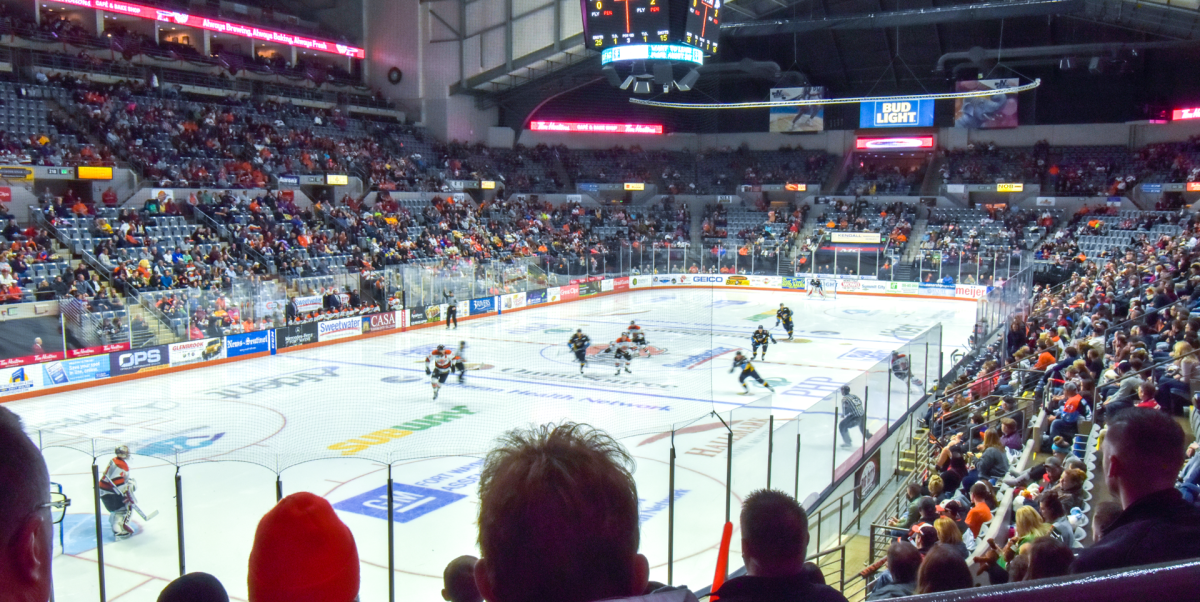 Komets Hockey Game