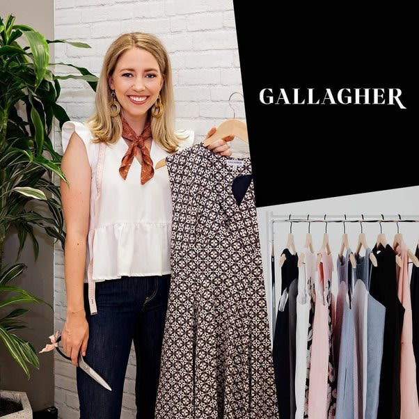 An example of the custom-made clothes available at Gallagher in Selden Market.
