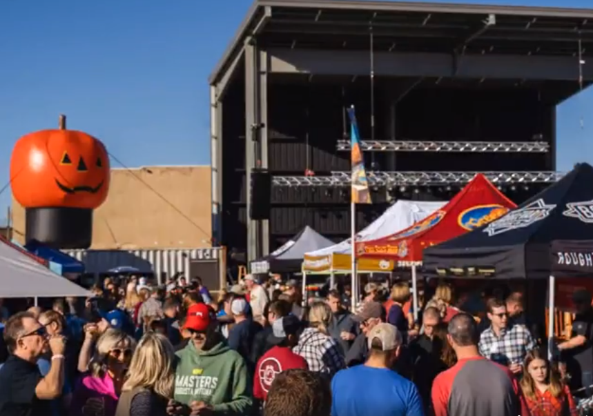 Large crowds form at WAVE in Wichita for the inaugural Prairieland Beer and Music Festival