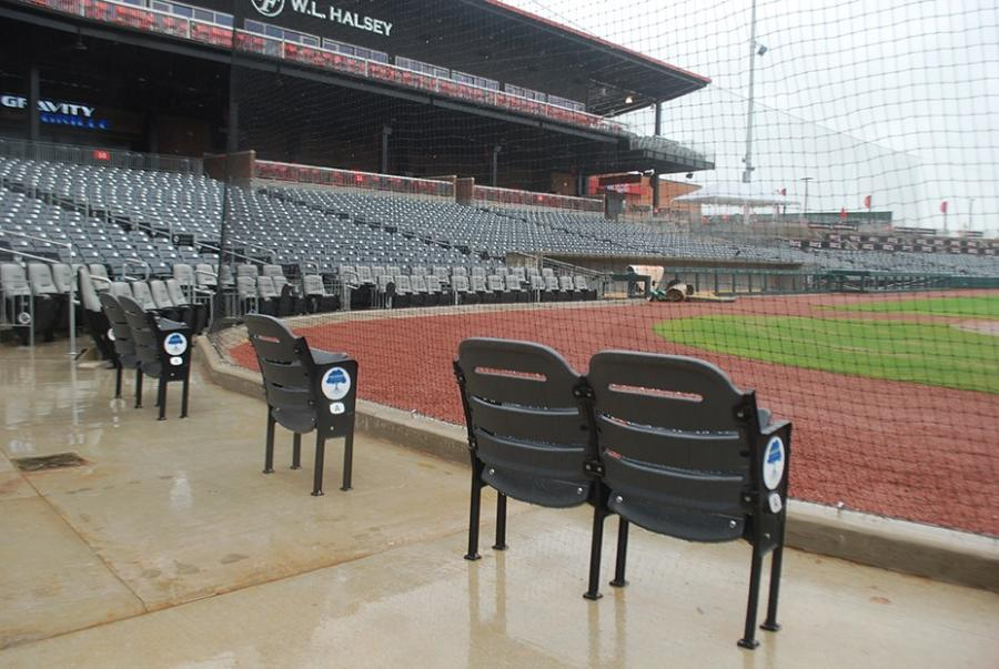 : Wheelchair-accessible seating options at Toyota Field feature companion seats for a fun day out.