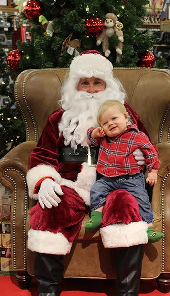 Santa at Cabela's