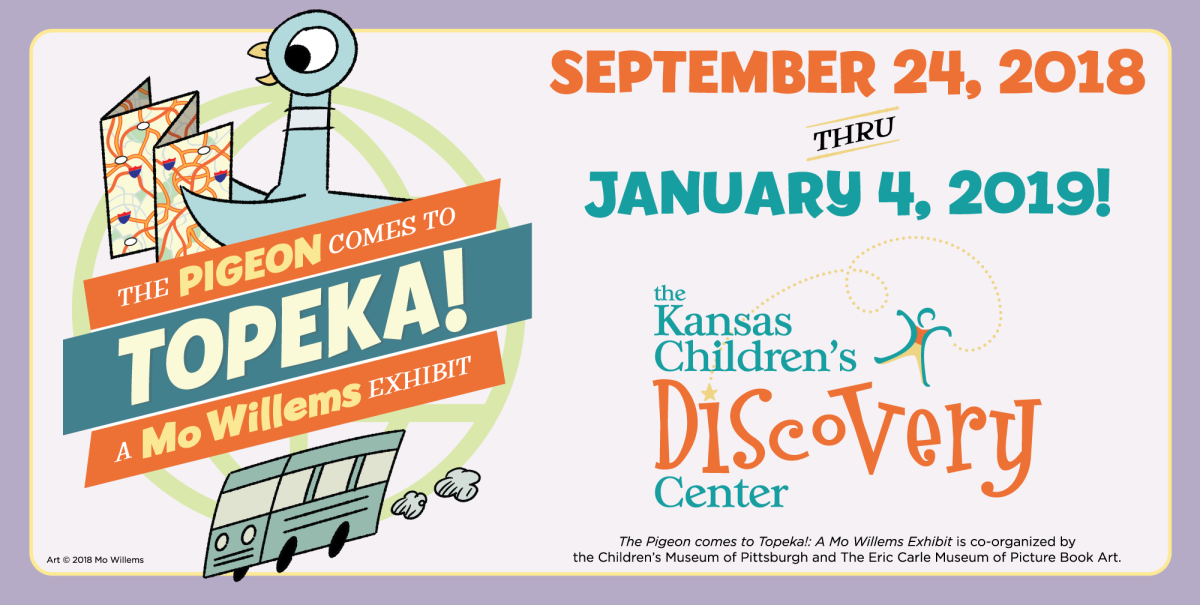 Pigeon Comes to Topeka September 24 through January 4
