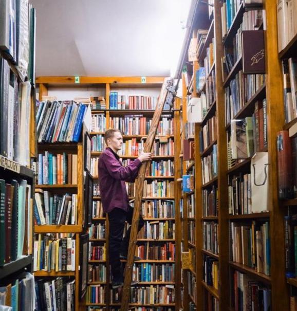 Bookstore Instagram - Megan Hevel - Fort Wayne, IN