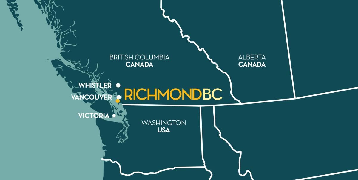 Richmond, BC Map