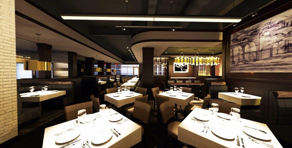 Gratzi Italian Restaurant Interior