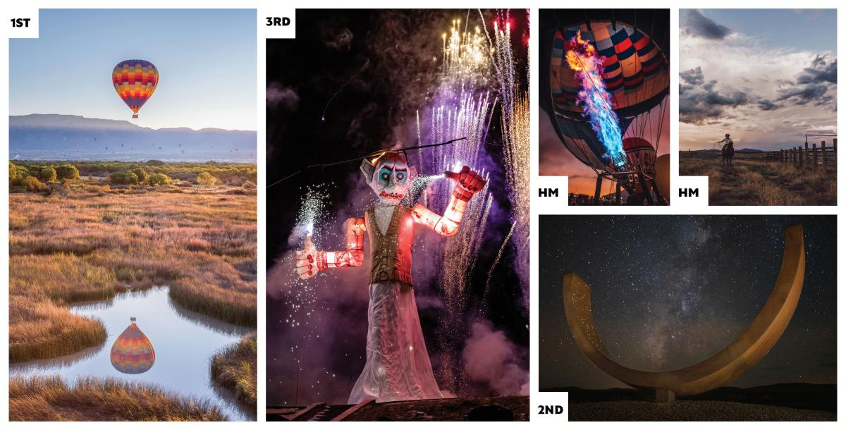 New Mexico Experiences Category Collage
