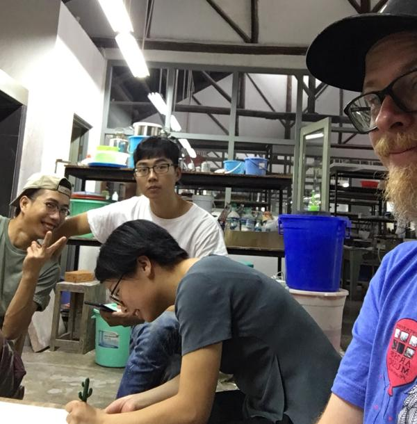 Mitch Kimball Pottery Workshop Jingdezhen