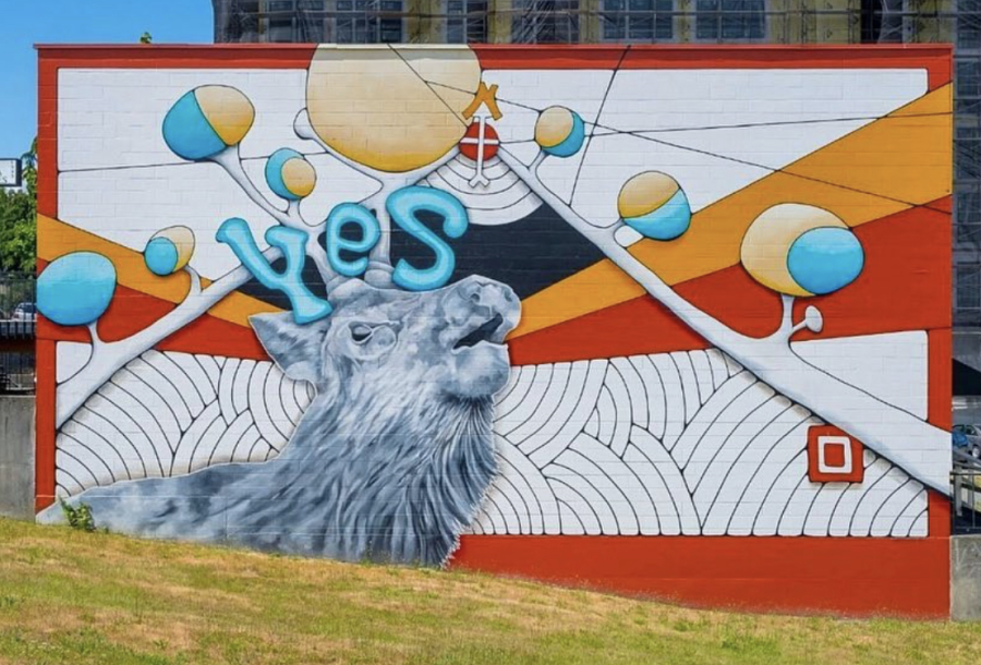 Yes Elk Mural