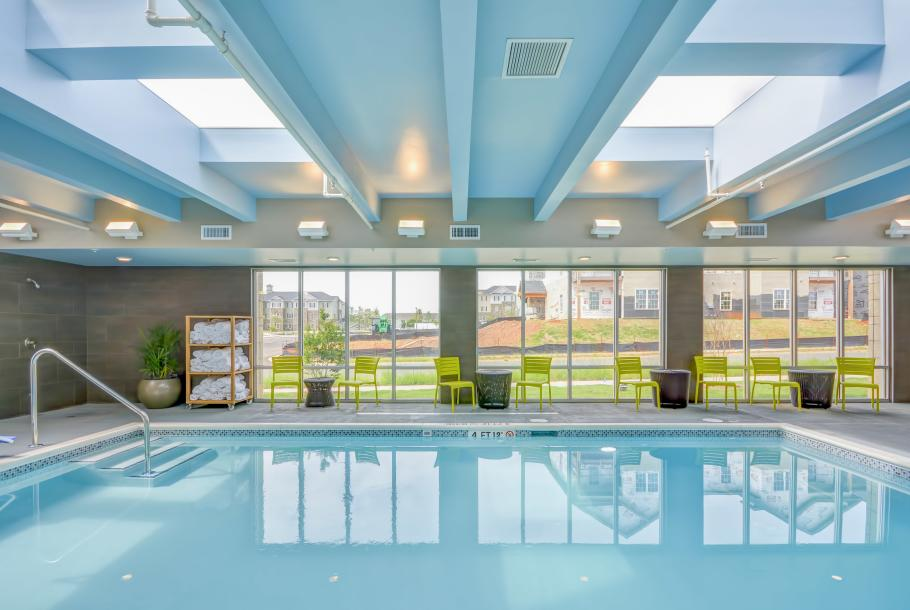 Saline Pool (Indoor)