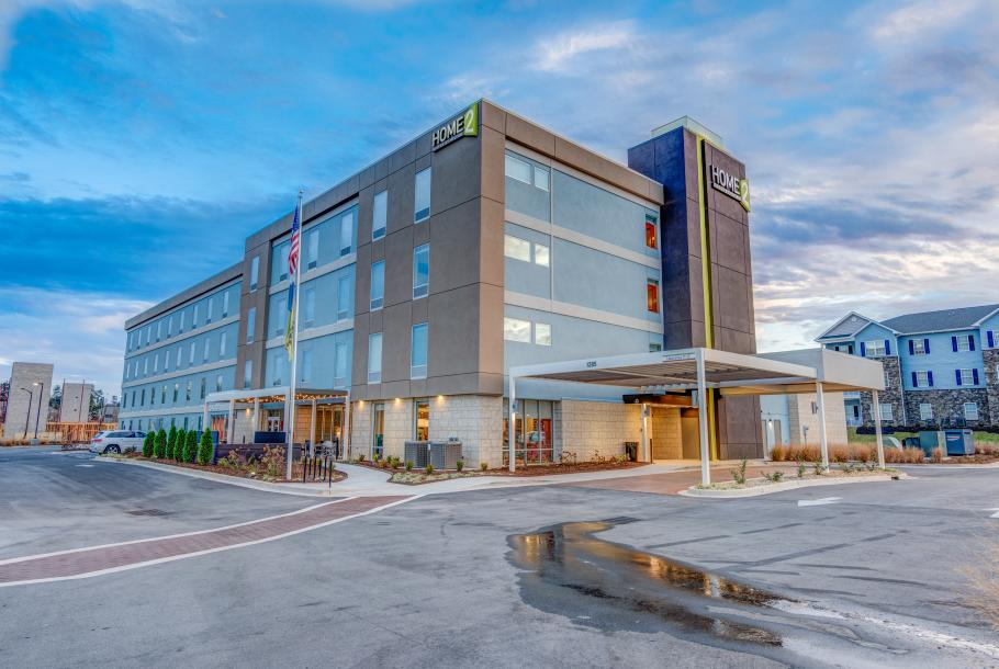 Home2 Suites Hotel Exterior Day Time