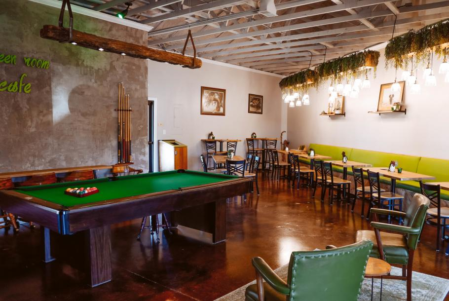 Green Room Cafe Inside