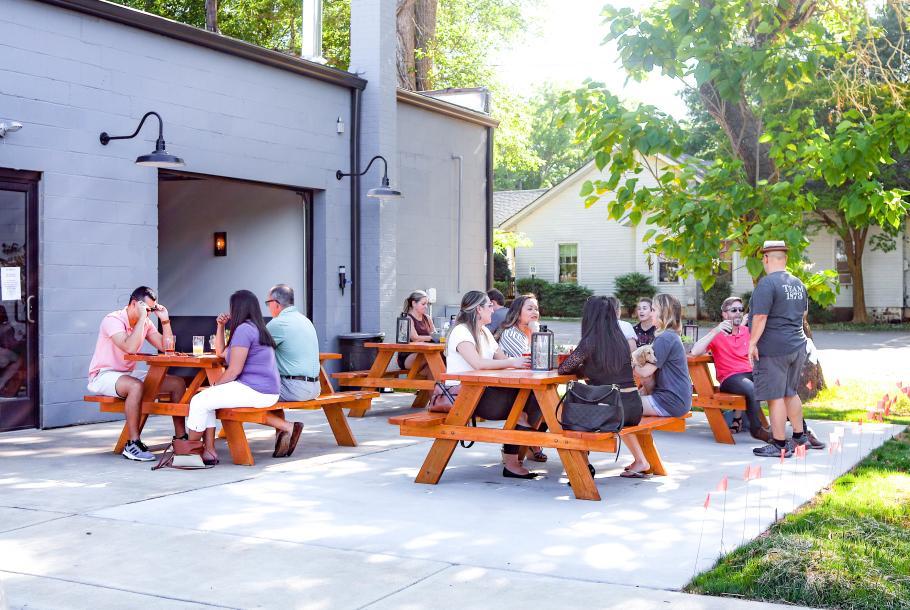 1873 patio