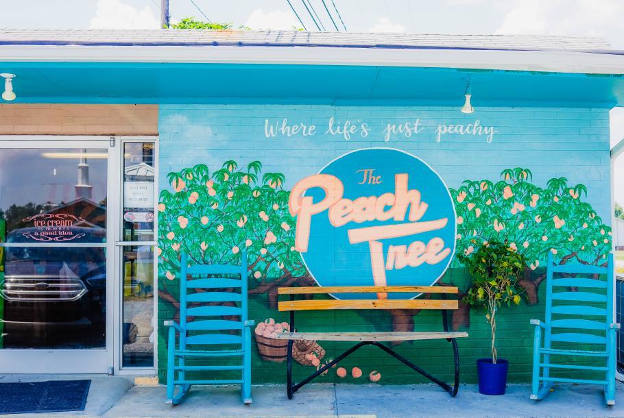Peach Tree Exterior