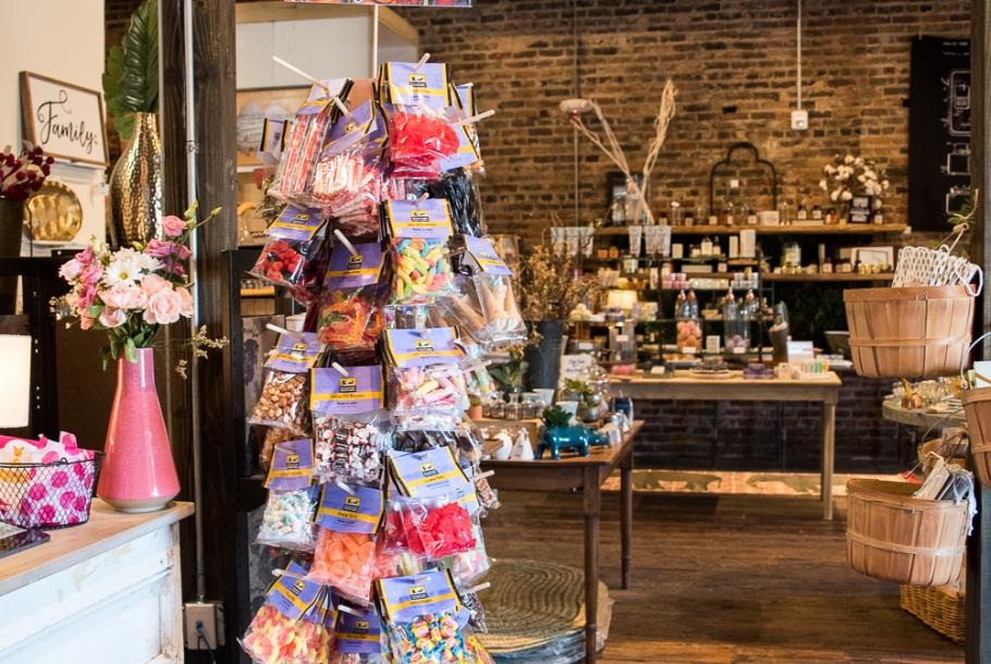 candy at The Mercantile
