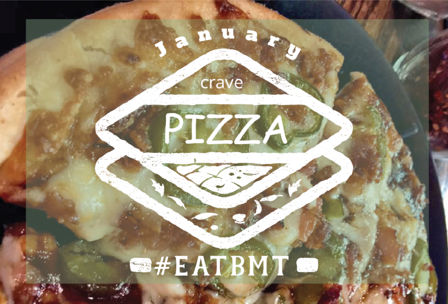 January Crave Pizza Logo #EATBMT