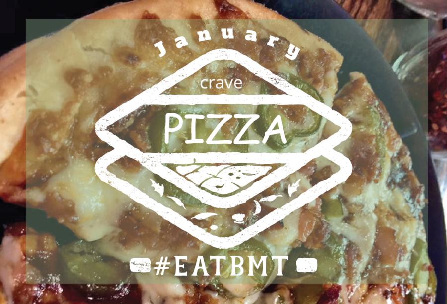 January Crave Pizza Logo #EATBMT
