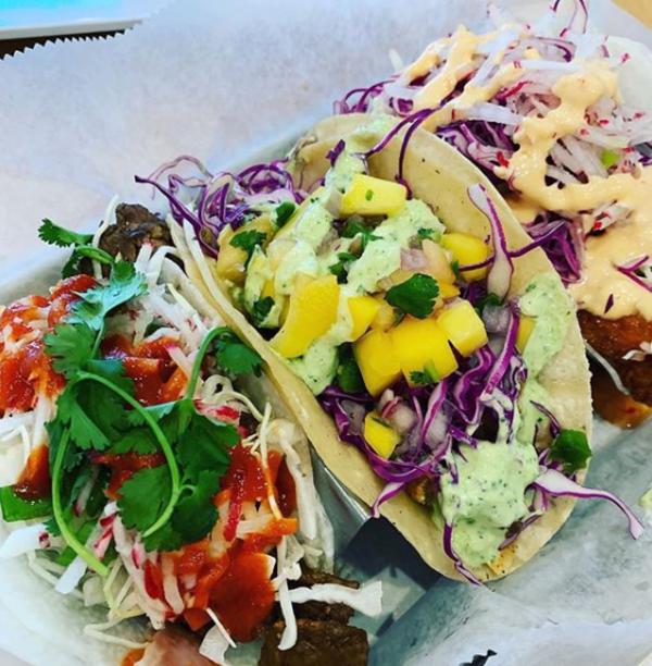 Korean Beef Tacos at Pacific Coast Tacos