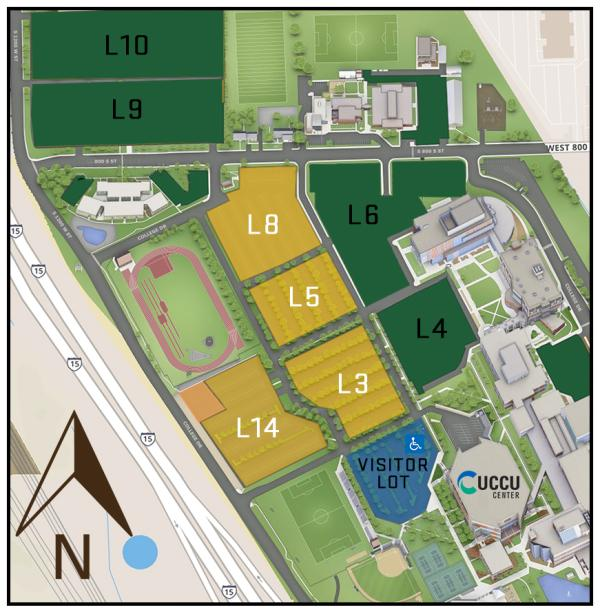 UCCU Updated Parking map PAGU