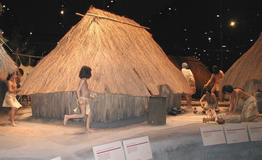 Cahokia Mounds Village Interpretation