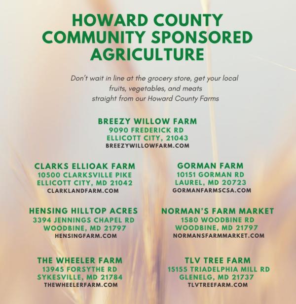 Hoco Farm List