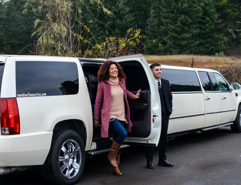 Sunshine Limo in Wine Country by Melanie Griffin