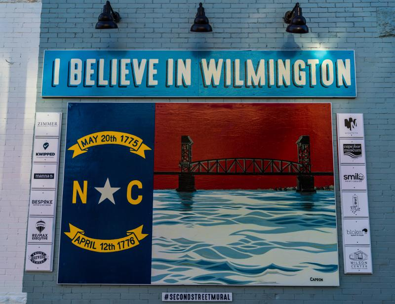 I Believe in Wilmington Mural smaller version